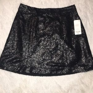 ❤️2 for $20❤️Black sequin skirt